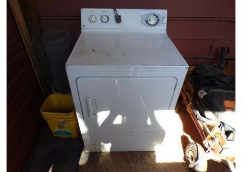 GE electric clothes dryer